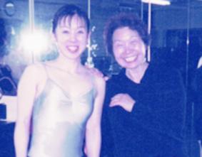 若かりし頃の涌井先生と私
