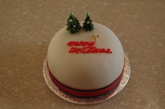 名付けて田舎の英国クリスマスケーキ(笑)