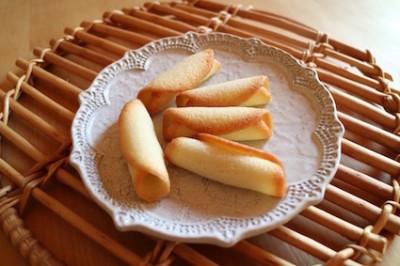 フランス菓子初級クラス『シガレット』