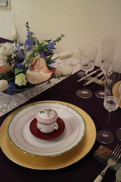 爽やかな「新春」のテーブル