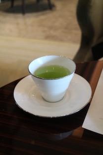 日本茶も美味しかった!