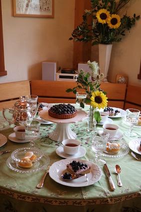 フランス菓子初級のティータイム